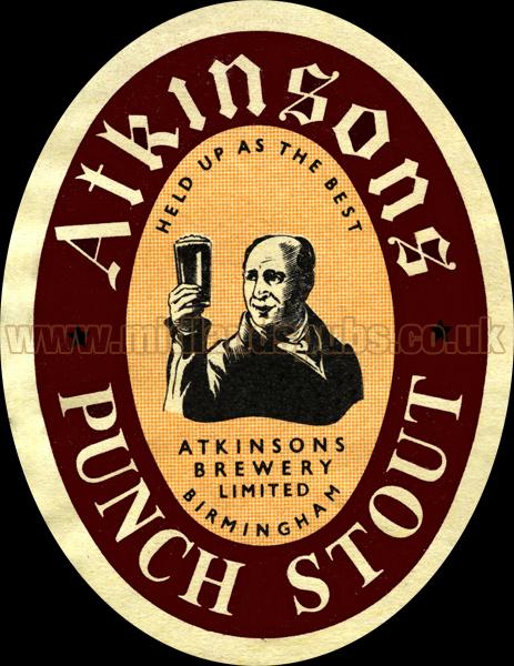 Atkinson's Punch Stout