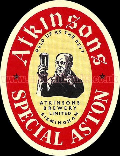 Atkinson's Special Aston Ale