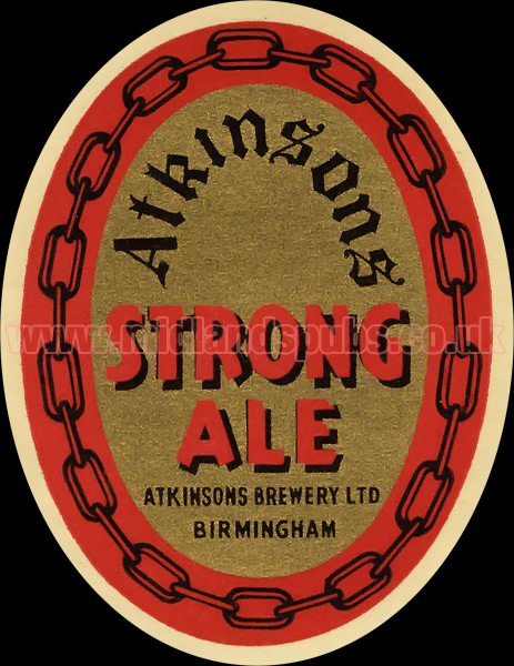 Atkinson's Strong Ale