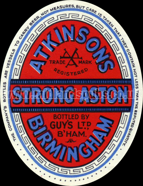 Atkinson's Strong Aston Ale