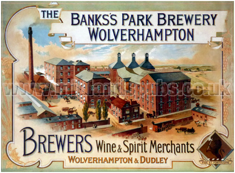 Banks's Brewery Poster Advertisement