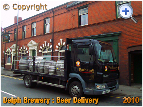 Halesowen : Beer Delivery from the Delph Brewery of Daniel Batham and Son Ltd. [2010]