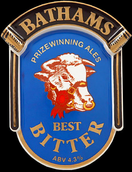 Batham's Bitter Pump Clip