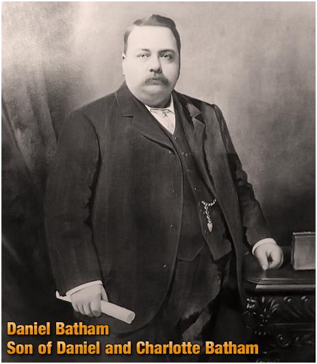 Daniel Batham : Son of Daniel Batham and Charlotte Billingham