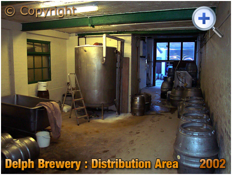 Brierley Hill : Distribution Area at the Delph Brewery of Daniel Batham and Son Ltd. [2002]