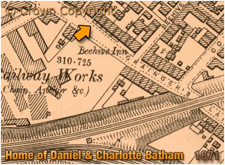 Cradley Heath : Home of Daniel and Charlotte Batham [1871]