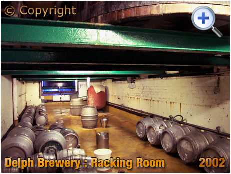 Brierley Hill : Racking Room at the Delph Brewery of Daniel Batham and Son Ltd. [2002]