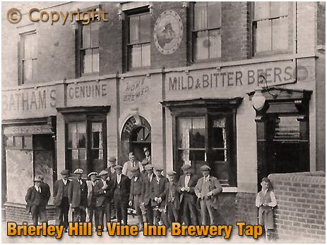 Brierley Hill : Vine Inn a.k.a. Bull & Bladder