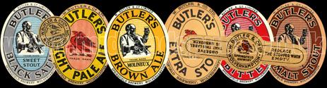 Beer Labels of William Butler's Springfield Brewery of Wolverhampton