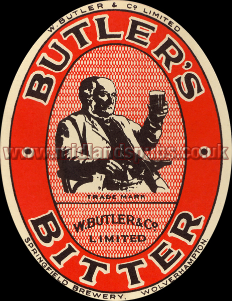 Butler's Amber Ale Beer Label [January 1946]
