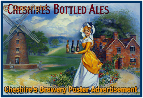 Cheshire's Brewery Poster Advertisement