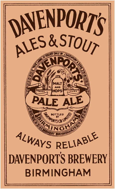 Click here for more information on Davenport's Brewery Limited