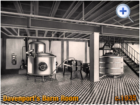 Barm Room at Davenport's Brewery at Bath Row in Birmingham [c.1935]