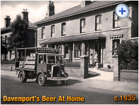 Beer Home Delivery from Davenport's Brewery at Bath Row in Birmingham [c.1935]