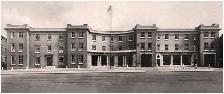 Davenport's Brewery Offices on Bath Row in Birmingham [c.1935]