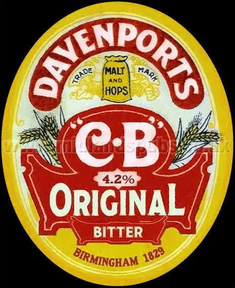 Davenport's CD Original Bitter