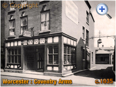 Worcester : Depot for Davenport's Brewery at the Coventry Arms [c.1935]