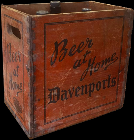 Beer at Home Crate of Davenport's Brewery