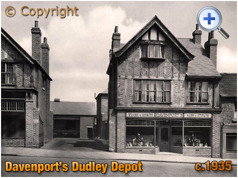 Dudley : Depot for Davenport's Brewery [c.1935]