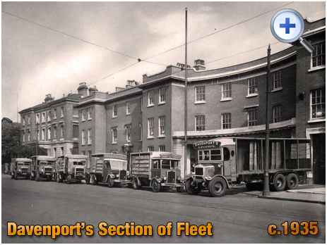 Section of the Fleet at Davenport's Brewery at Bath Row in Birmingham [c.1935]