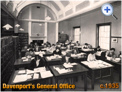 General Office at Davenport's Brewery at Bath Row in Birmingham [c.1935]