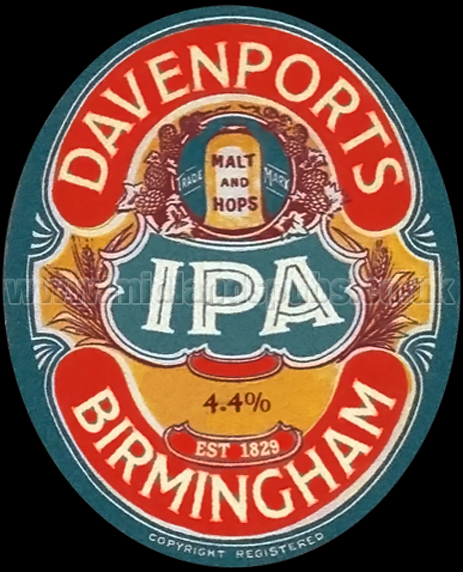 Davenport's India Pale Ale