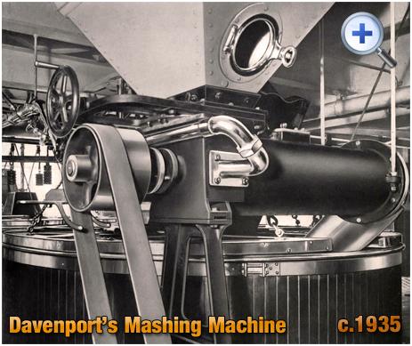 Mashing Machine at Davenport's Brewery at Bath Row in Birmingham [c.1935]