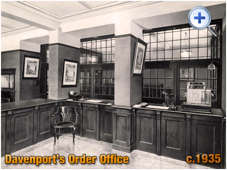 Order Office at Davenport's Brewery at Bath Row in Birmingham [c.1935]