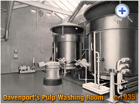 Pulp Washing Room at Davenport's Brewery at Bath Row in Birmingham [c.1935]