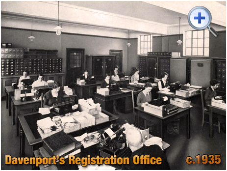 Registration Office at Davenport's Brewery at Bath Row in Birmingham [c.1935]