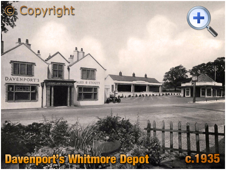 Whitmore : Depot for Davenport's Brewery [c.1935]