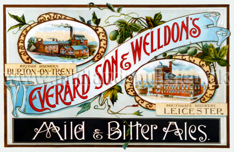 Everard, Son and Welldon's Brewery Advertisement