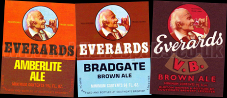 Everard's Beer Labels
