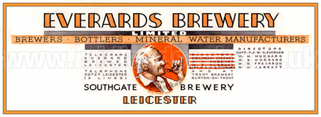 Letterhead of Everard's Brewery Limited [c.1928]