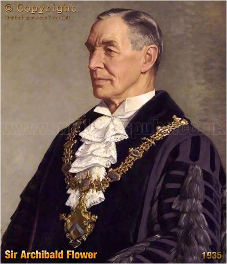 Sir Archibald Flower by Francis Dodd [1935]