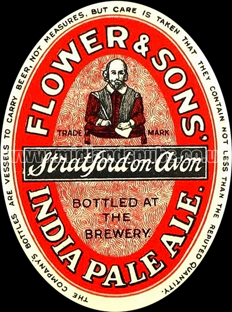 Flower and Sons India Pale Ale Beer Label