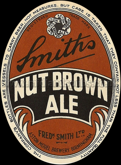 Frederick Smith's Nut Brown Ale [Beer Label]