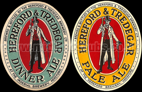 Beers produced by Hereford & Tredegar Brewery Ltd.