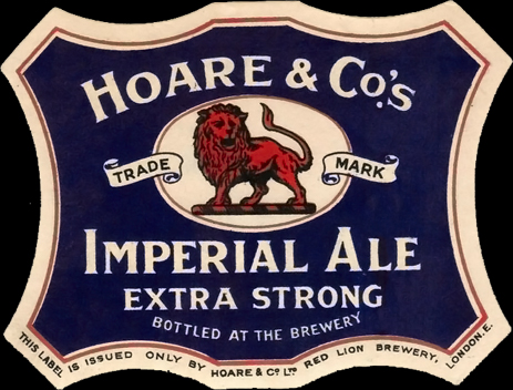 Hoare & Co's : Imperial Ale Extra Strong Beer Label