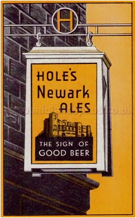 Hole's Newark Ales - The Sign of Good Beer