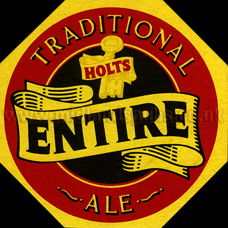 Holt, Plant and Deakin : Beermat for Entire Ale