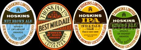 Hoskins Beer Labels