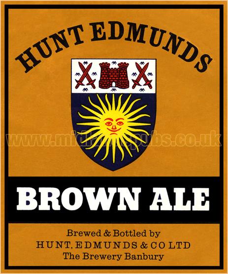 Hunt Edmunds Brown Ale