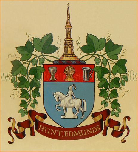 Crest or Coat-of-Arms of Hunt Edmunds and Co. Ltd. of Banbury