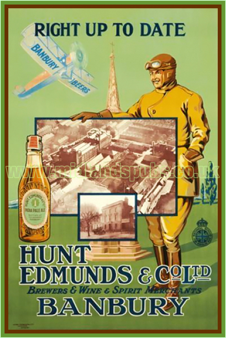 Poster Advertisement for Hunt Edmunds and Co. Ltd. of Banbury