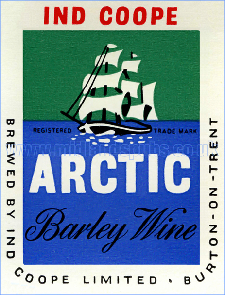 Ind Coope Arctic Barley Wine