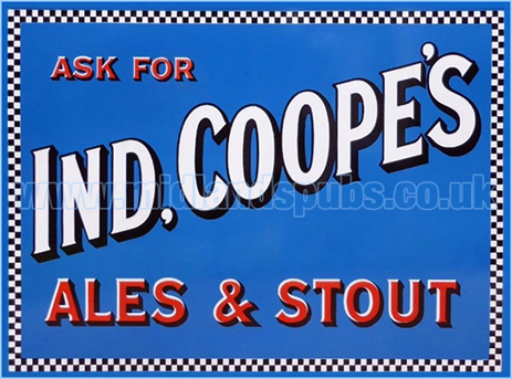 Ask For Ind Coope Ales and Stout