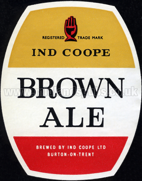 Ind Coope Brown Ale