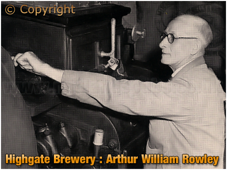 Mitchell's & Butler's : Arthur William Rowley of Highgate Brewery [1953]
