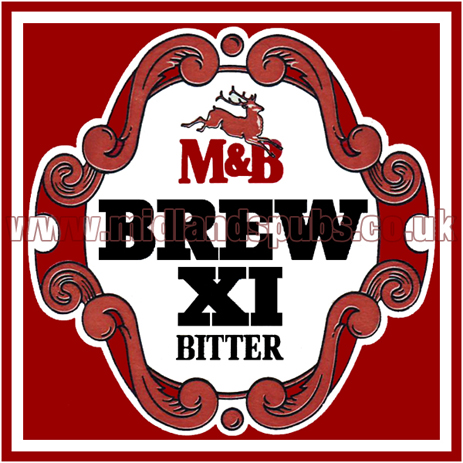 Mitchells's and Butler's Brew XI Bitter